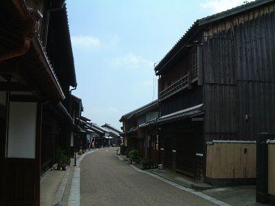 東海道・関宿の町並み