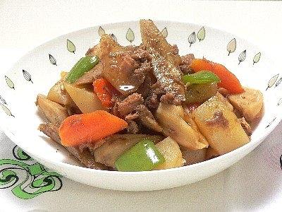 ツナと根菜の煮物 カテゴリー:サブのおかず、煮物   缶詰ツナを使えばダシ要らず 今日の...