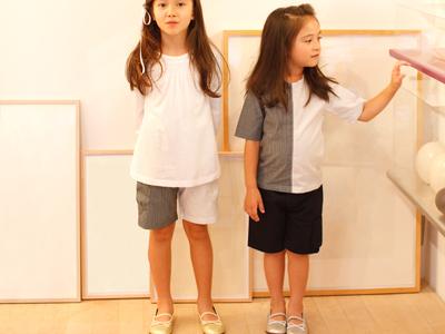 子供の足の成長を考えたキッズシューズの「sayang(サヤン)」は、子供... 左/サヤンバレエ