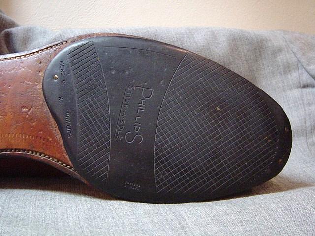 画像 : 【革靴】レザーソールと ...