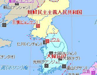 朝鮮半島の地図 朝鮮戦争中にも原爆使用の話が出ていた。「米国を恨む気はないが、勝ち戦と分...