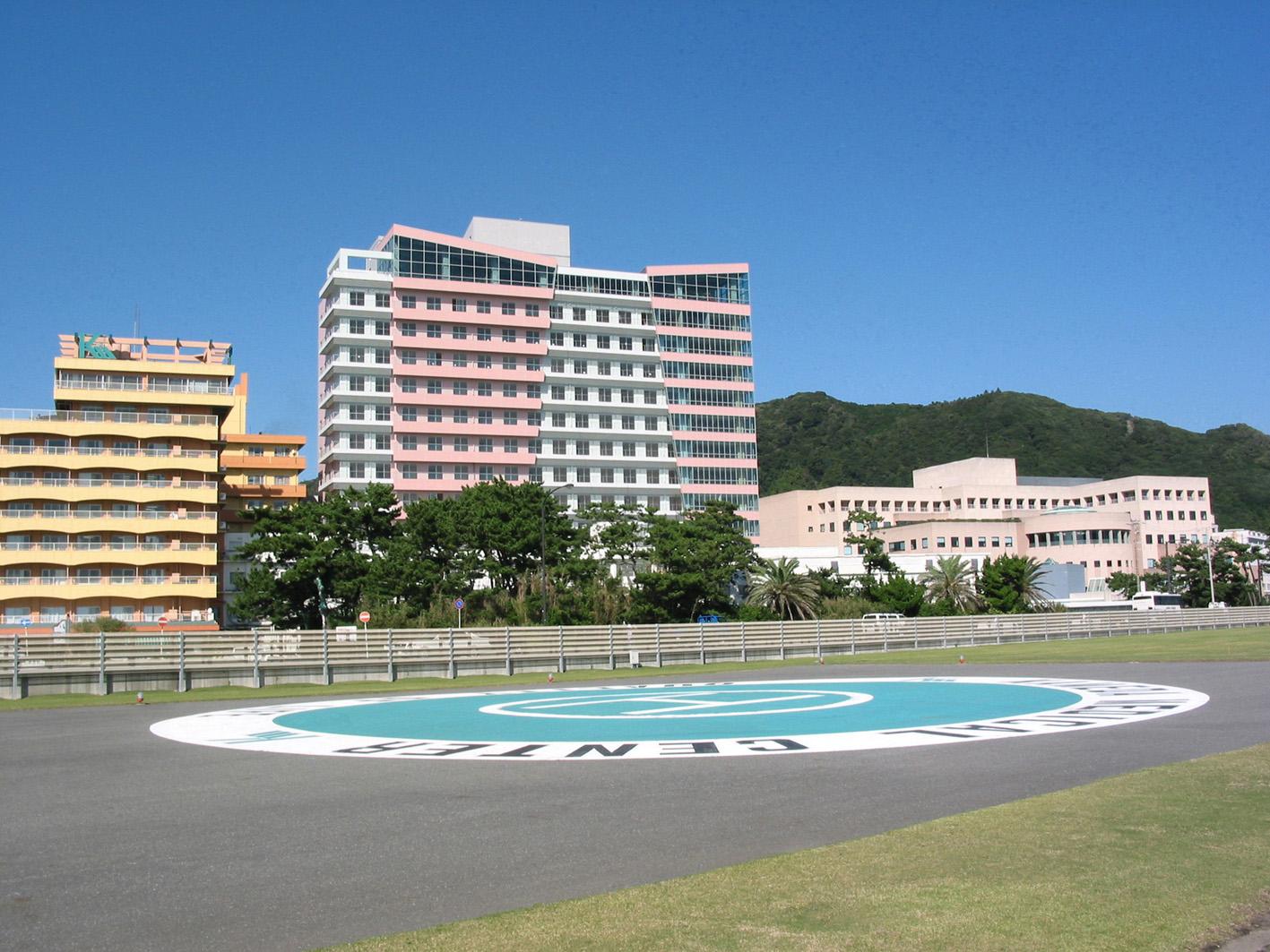 災害拠点病院亀田総合病院