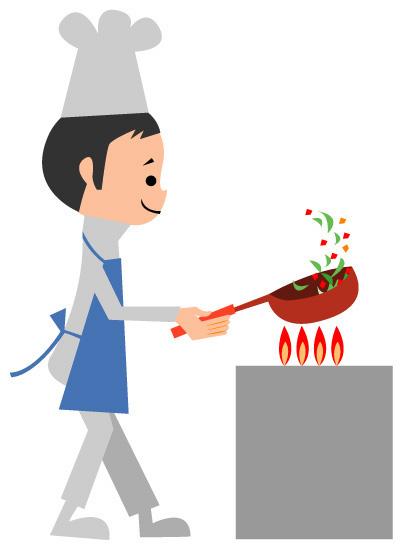 調理の仕事