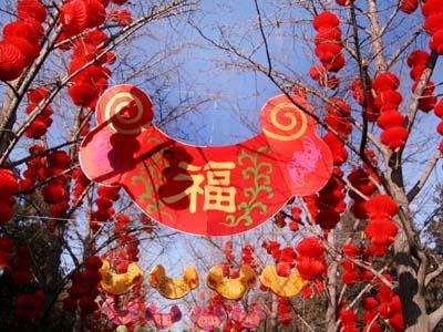 廟会 春節の時期は、中国中が赤、黄色、金など極彩色で染まる 毎年、中国全土が... 中国の旧正月