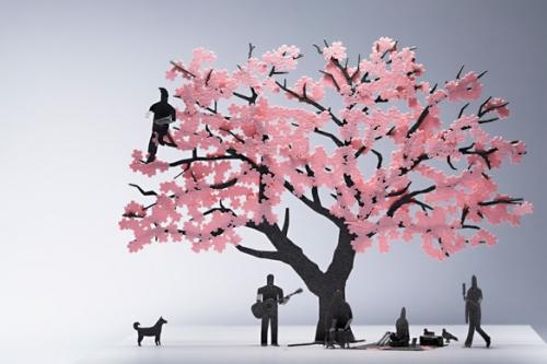 花 折り紙 季節の花 折り紙 : 震災復興への祈りを込めた ...