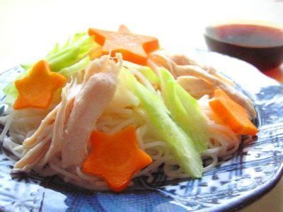 カテゴリー: ご飯・麺・粉物 ... : 簡単七夕飾り : 七夕
