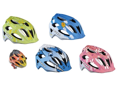 ... ヘルメット [子供乗せ自転車