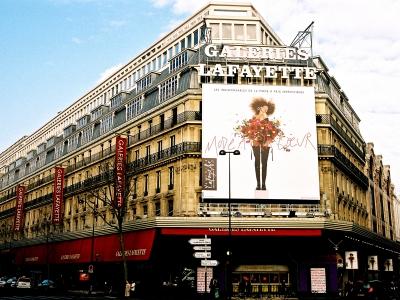 ギャラリー・ラファイエット百貨店/パリのデパート