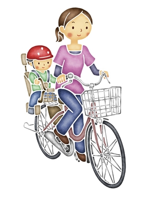 ... いない、自転車の乗り方