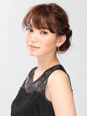 東京 結婚式 髪 セット