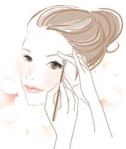 イメージ画像 眉は時代を映しだす鏡、キレイを左右する重要なパーツです。 以前、眉は&ld