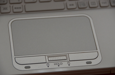 Windows8用PCのLet'sNoteAXのタッチパッド