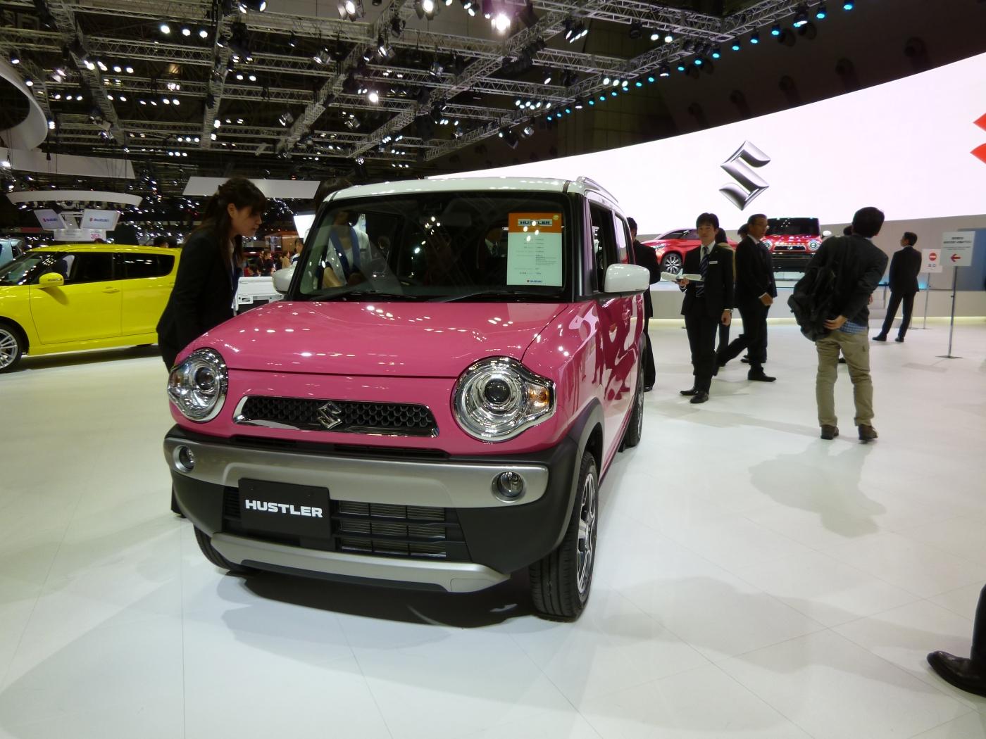東京モーターショーで、発売予定の車をチェック!
