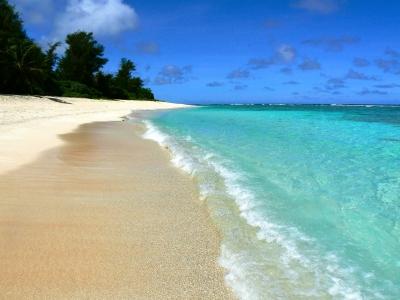 近場といって、見くびれないのがグアムの海! 近場といって、見くびれないのがグアムの海! 日本から