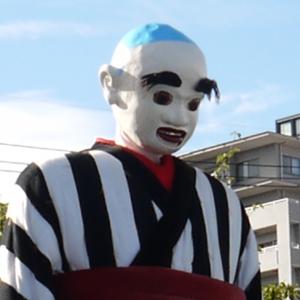 大四日市祭り 日本一のからくり人形 大入道 「大入道」と書いて「おにゅうどう」と読み... 迫力