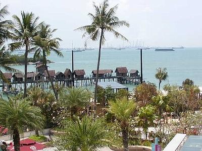 シンガポール唯一の一大リゾートアイランド、セントーサ島