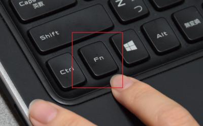 ファンクション(fn)キーと同時押しが必要な場合がある。