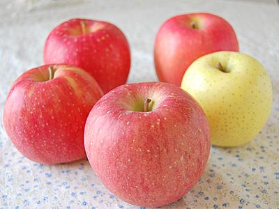 栄養があるりんご。