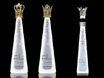 限定Fillico 2本+NEW KING&QUEENキャップ(ゴールド)セットとNEW Fillico Mini&専用ミルククラウンキャップ