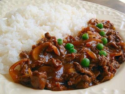 薄切り肉で簡単調理、ハヤシライ...