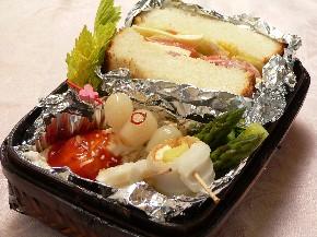 4月のお弁当〜BLTサンドイッチ〜