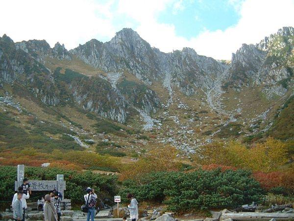千畳敷カールの紅葉・黄葉と宝剣岳
