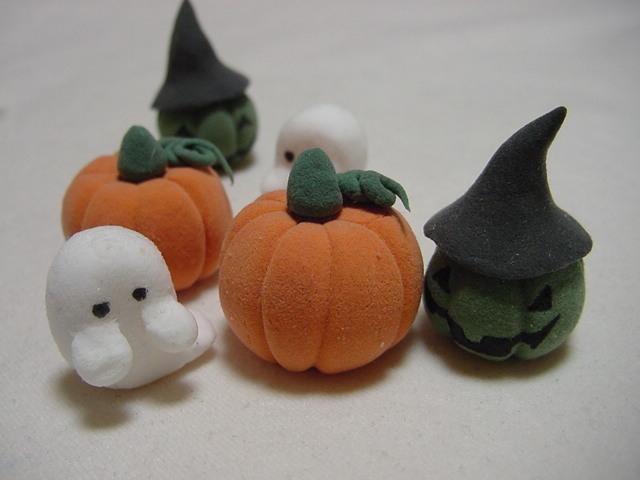 紙粘土で作るハロウィン用ミニ ... : 小麦粉粘土 : すべての講義