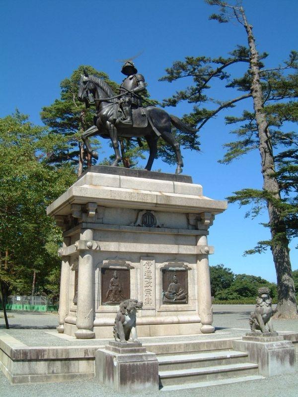 青葉城址/伊達政宗の騎馬像