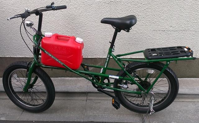 時の避難用に開発された自転車 ...