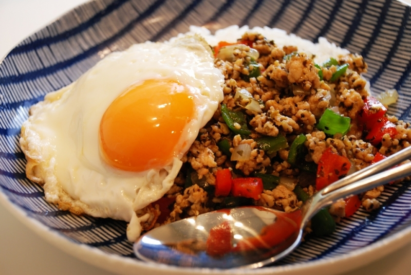 「ガパオライス タイ料理」の画像検索結果