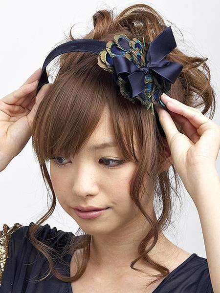 最新のヘアスタイル 結婚式髪型ハーフアップ 自分 : のゴージャスアップ [結婚式 ...