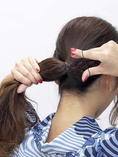 |浴衣ヘア ロングの髪型 ...