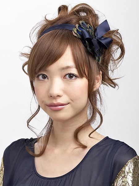 最新のヘアスタイル 結婚式髪型ハーフアップ 自分 : 結婚式のお呼ばれ髪型 ...