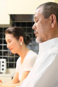 「キッチン」ガイド黒田秀雄さんと、「ホームメイドクッキング」ガイド 黒田民子さん。All About開設当初から、ご夫婦でガイドを務められている。