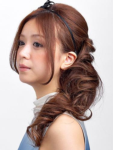 簡単!結婚式&披露宴の髪型・ヘアアレンジのやり方(14ページ目)