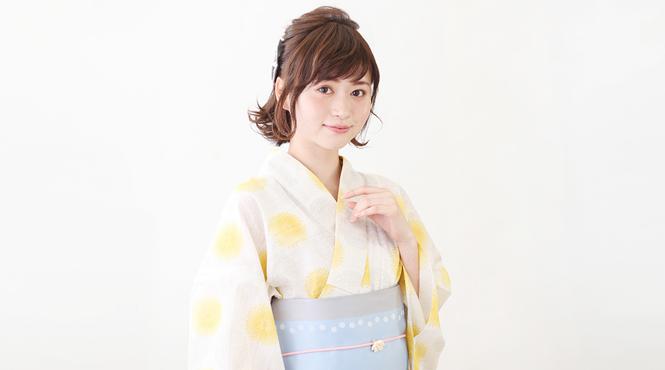 浴衣ヘアアレンジ&髪型