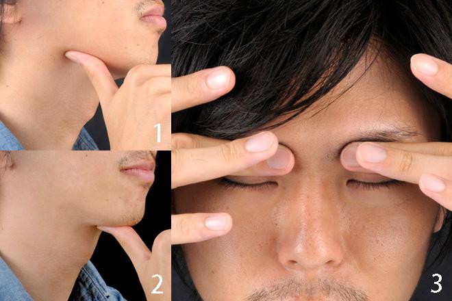 ツボ押しで顔色をよくする方法