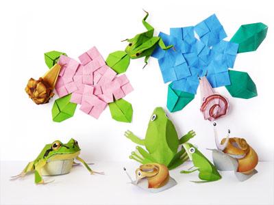 クリスマス 折り紙 折り紙 カエル 折り方 簡単 : divulgando.net