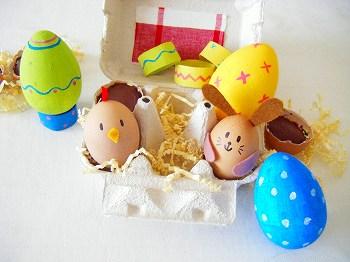 幼児 幼児簡単工作 : 美しいイースターエッグの写真 ...